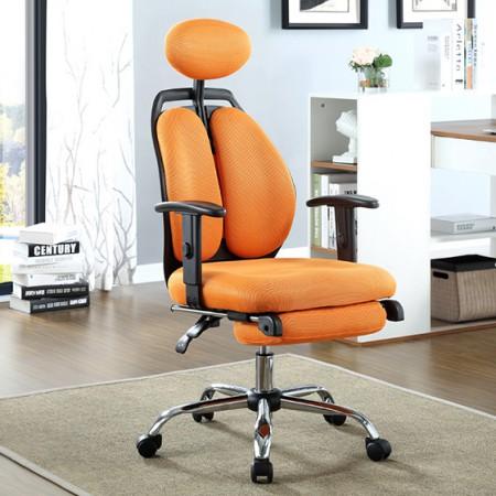 �9d�[ڞ�����nY�.x�j�h�_生活诚品 电脑椅子 办公椅 家用双背转椅 橙色dny6360c