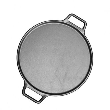 [Lodge洛极]美国原产 平底(电磁炉通用)披萨煎饼铁板烧无涂层铸铁烤盘煎锅
