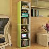 慧乐家鲁比克L40六层书柜(绿白色)11306-2