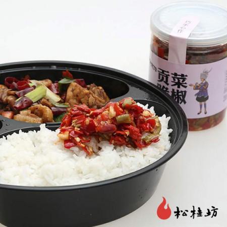 松桂坊 贡菜脆椒·218g*10瓶
