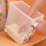 [inomata]带把手米桶+量杯 5kg
