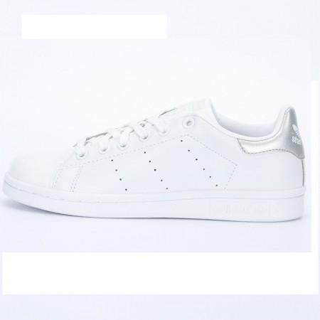 直邮 Adidas Stan Smith系列小白鞋 银尾