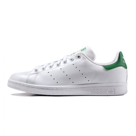 直邮 Adidas Stan Smith系列小白鞋 绿尾