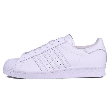 直邮 Adidas Superstar经典贝壳头情侣鞋 白标