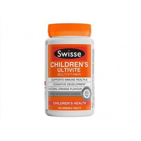 香港直邮 澳洲Swisse儿童复合维生素矿物质咀嚼片 120片