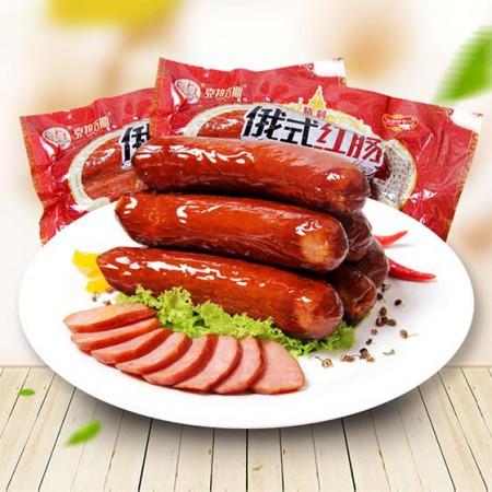 【包邮】[克拉古斯]精制红肠+佐治盐水肠超值组