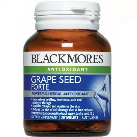 澳大利亚直邮Blackmores澳佳宝葡萄籽精华30粒×2瓶