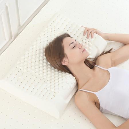 天绚 泰国原浆进口乳胶枕-颗粒枕