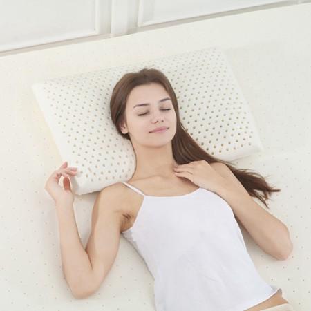 天绚 泰国原浆进口乳胶枕-面包枕
