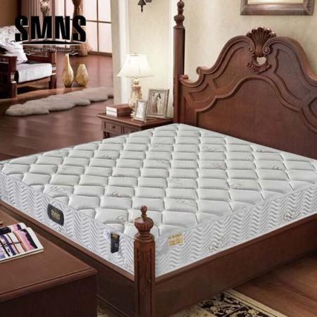 索莫纳缌天然乳胶山羊绒+9区弹簧+3D椰棕床垫 定制款150*200cm厚23cm