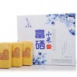[寿之本]青花瓷礼盒2.5kg农场自产纯正石磨黄小米河北特产