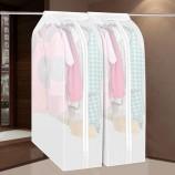 [JM]家居韩式高品防尘防潮立体衣物收纳整理罩(大号-白色)3个装