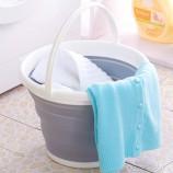 [JM]良品可折叠易收纳水桶(白灰色)