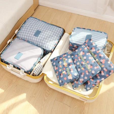 [JM]居家韩式旅行收纳袋(6件套装)