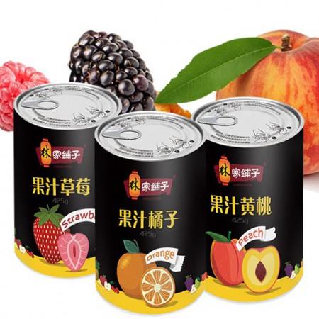 林家铺子 果汁罐头组合·425g*12罐