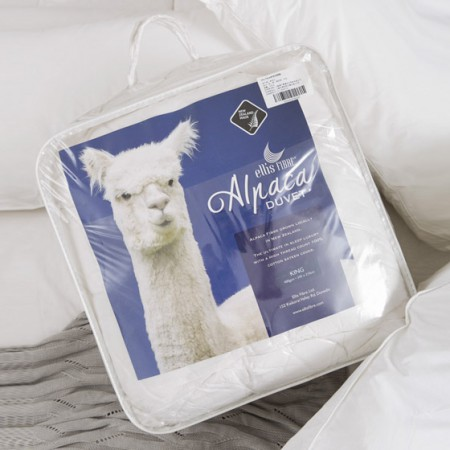 [巴洛奇]新西兰原装进口ellis fibre羊驼毛冬被245*210cm