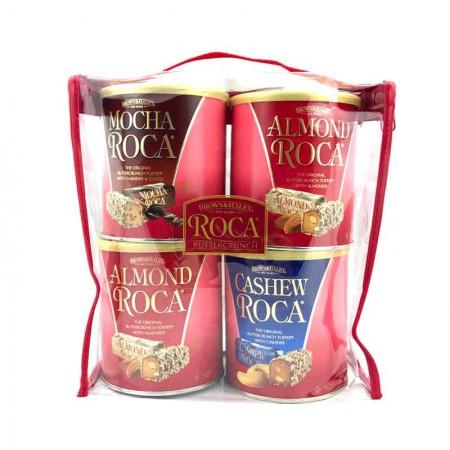 美国直邮-ROCA太妃糖3种口味4罐套装
