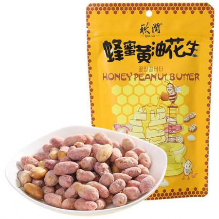 秋润蜂蜜黄油花生8袋装