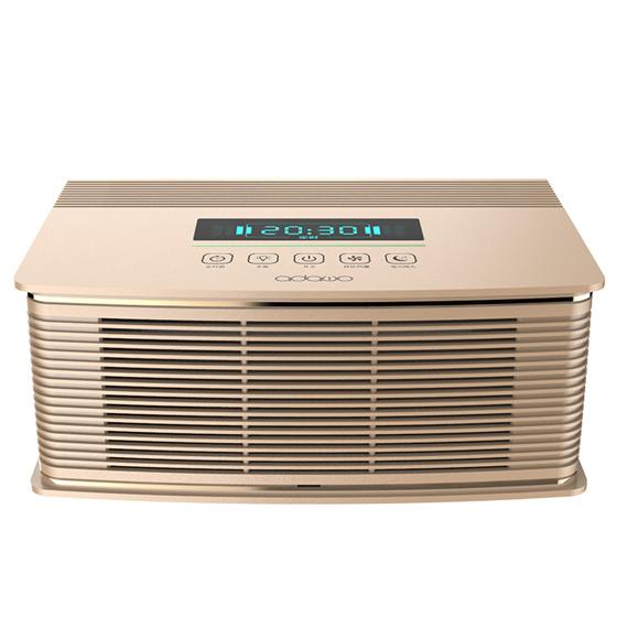 德国爱达屋 空气净化器除甲醛PM2.5·金色