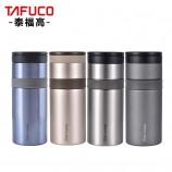 泰福高双层真空不锈钢保温罐保温杯600ML