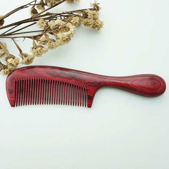 百年许氏红臻整木梳子-姹紫嫣红