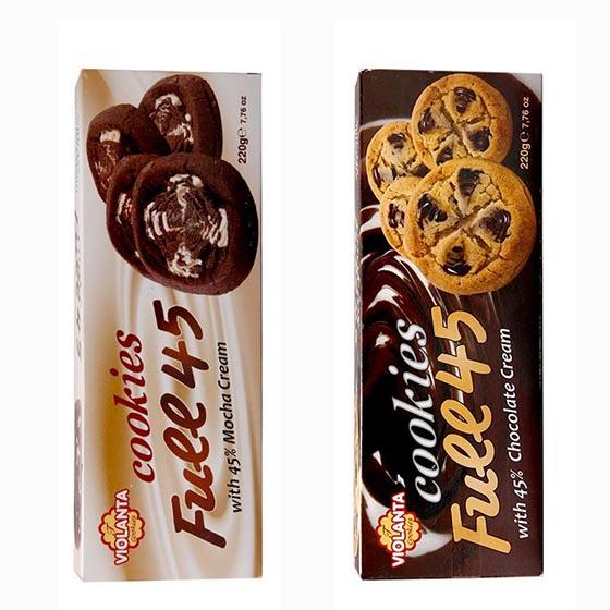 [百夫长]希腊原装浪漫奶油液态夹心曲奇2种口味4盒