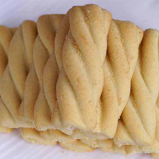 [百夫长]希腊原装进口浪漫扭扭曲奇2种口味4盒