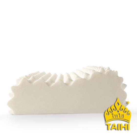 泰嗨泰国整只原装进口天然乳胶高低按摩枕标准款
