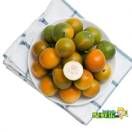 聚鲜乐 广西金桔3斤中果装(单果重量:9g-13g)