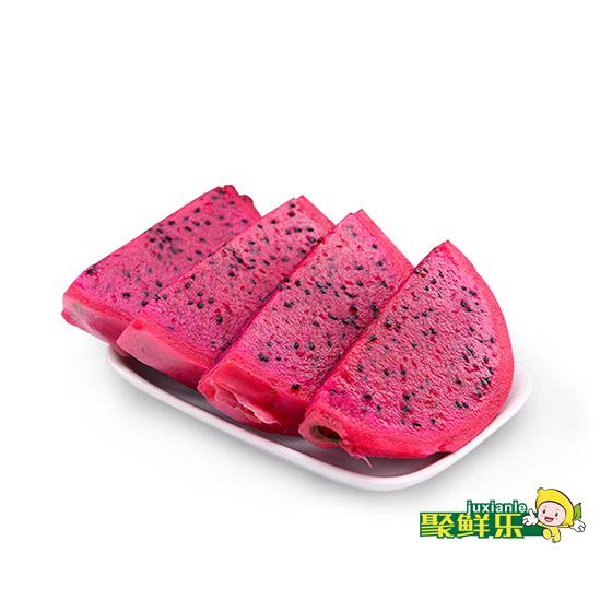 预售  聚鲜乐 越南红心火龙果5斤装(5-7)个 预2017年2月11日发货