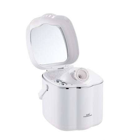 金稻 蒸脸器热喷家用美容仪纳米离子喷雾蒸脸机洁面仪补水仪·白色
