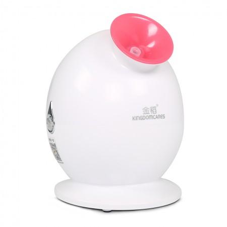 金稻 蒸脸器美容仪Q版家用喷雾机热喷蒸面器补水仪器蒸脸机·白色