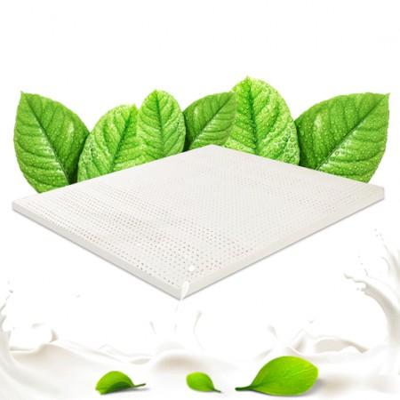 泰嗨 泰国 原装进口天然乳胶床垫1.8米10公分·乳白色