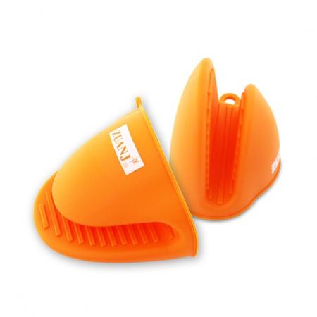 ZUANJ/钻技 大号硅胶隔热夹两件套·橘色