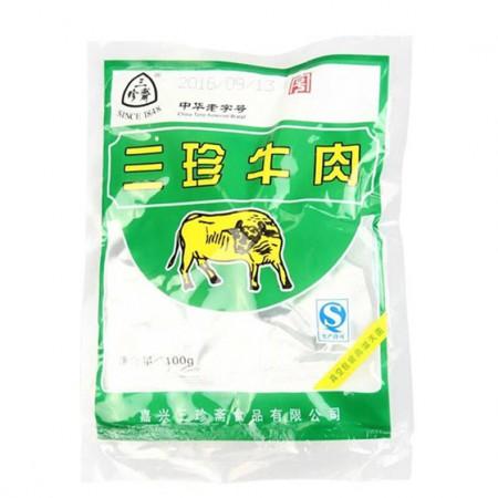 三珍斋五香酱牛肉100g*8袋