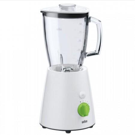 德国博朗(Braun)家用多功能料理机搅拌机果汁机 JB3060  ·白色