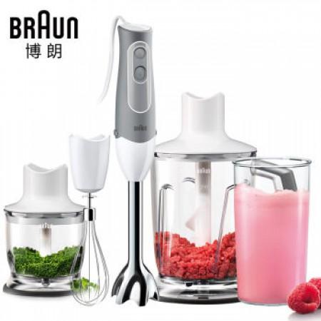 德国博朗(Braun)进口多功能料理机MQ545·白色