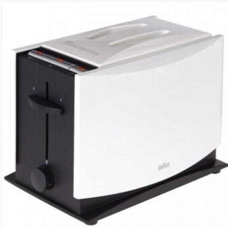 德国博朗(Braun)多士炉烤面包机吐司机HT400·白色