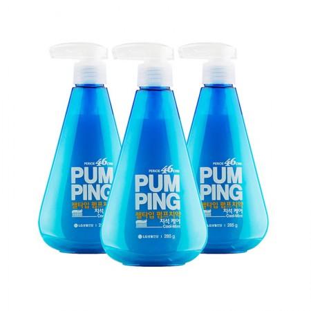 LG 倍瑞傲派缤牙膏·3瓶·冰蓝薄荷