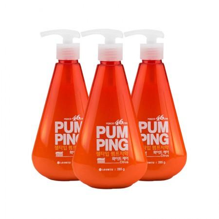 LG 倍瑞傲派缤牙膏·3瓶·沁橙亮妍