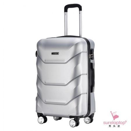 秀乐途(Surelaptop) 加厚铝制拉杆ABS磨砂款男女旅行箱万向轮拉杆箱24寸 4716