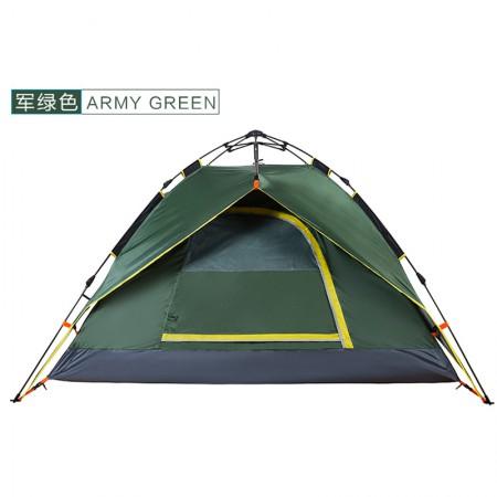 winpolar 全自动户外帐篷 3-4人·军绿色