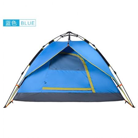 winpolar 全自动户外帐篷 3-4人·蓝色
