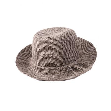 时间煮雨 手工草编卷边·遮阳帽