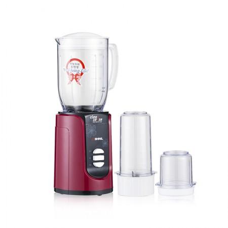 [巴洛奇]SHINIL 韩国信一多功能家用小型搅拌机榨汁料理机·红色