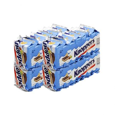 澳洲直邮 Knoppers牛奶榛子巧克力威化饼·4包