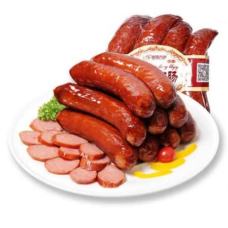 克拉古斯 精制红肠+佐治盐水肠·200g*10袋+360g*4根