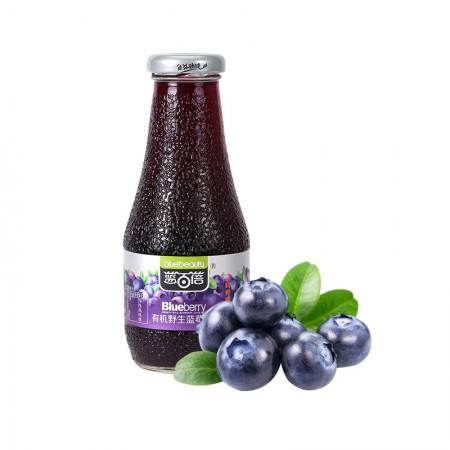 蓝百蓓 纯有机野生蓝莓果汁·300ml*8瓶
