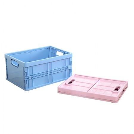 [JM] 大容量可折叠家用车用整理收纳箱·蓝色