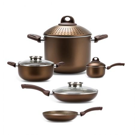 [巴洛奇]pensofal 意大利进口经典厨具•9件套礼盒·咖色